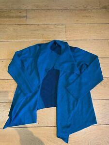 Eileen Fisher Grun Blau Damen Cardigan Bluse Sweater Größe XL