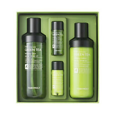 Tonymoly Green Tea Watery Lotion Skin 4 Set Toner / Emulsion / 2 Gift K-Beauty