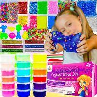 OzBSP Crystal Slime Kit. DIY Slime Making Kit for Girls & Boys. Slime Supplies.