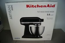 KitchenAid® Artisan Mini 3.5-Quart Tilt-Head Stand Mixer (BLACK) (Brand New)