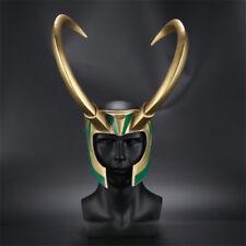 Thor 3 Loki Helmet PVC Adult Cosplay Props Horns Hat Headpiece Ragnarok Hot