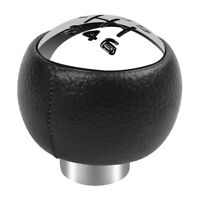 1X(1X(Pommeau de Levier de Vitesses Noir à 6 Vitesses Pour Peugeot 307 308 3008