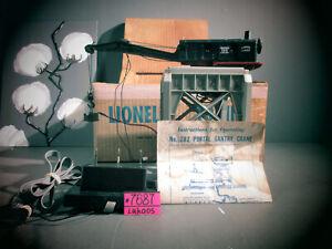 Vintage Lionel 282 Portal Gantry Crane, ORIGINAL Box & Instructions . WORKS GOOD