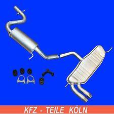 VW GOLF VI (5K1)  1.4 TSI  MITTEL + ENDSCHALLDÄMPFER Auspuffanlage Auspuff + SET