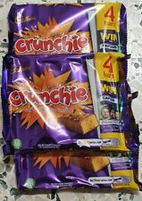3 × Cadbury Crunchie Multipack 4 x 32g Chocolate free delivery in uk best  choco