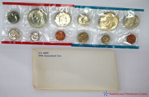 1976 US Mint Uncirculated Coin Set P & D