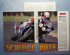 MOTOSPRINT990-PROVA / TEST-1990- YAMAHA FZR 1000 EX UP - 3 fogli
