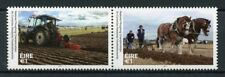 Ireland 2017 MNH National Ploughing Championships Tractors Horses 2v Set Stamps