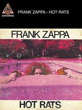 FRANK ZAPPA GUITAR TAB / TABLATURE  / **BRAND NEW** / HOT RATS / SONGBOOK
