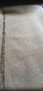 SANDERSON BYRON WOOLS PLAIN ANTELOPE WOOL UPHOLSTERY FABRIC 130cm x 140cm