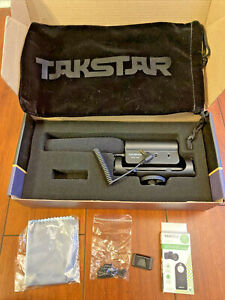 Takstar SGC-598 Shotgun Video Recording Microphone Photo Interview DSLR w/ EXTRA