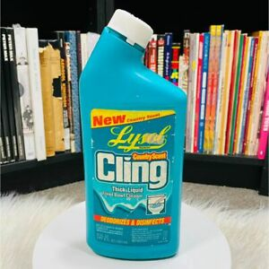 VINTAGE LYSOL CLING TOILET BOWL CLEANER 22 fl oz