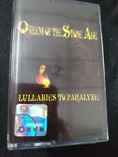 Queens of The Stone Age LULLABIES TO PARALYZE Cassette Tape Free Shipping