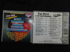 RARE CD TOM PETTY & THE HEARTBREAKERS / LIVE USA / BOOTLEG /