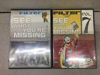 FILTER MAGAZINE: See What You're Missing Vol 6 and Vol 7 - Lot of 2 DVDS