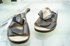 Rôdeur Femmes Comfort Chaussure d'été sandales cuir velcro noir taille 4 H 37 #59