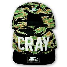 Original Starter Black Label Rocawear Cray Snapback Cap Camo/Schwarz