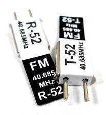 RC 40 MHz 40.685 FM Cristal TX & RX Receptor 40 MHz Negro canal 52