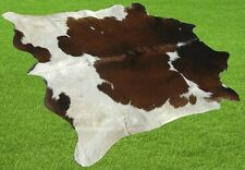 """New Cowhide Rugs Area Cow Skin Leather  (52""""x 52"""") Cow hide LWP-9825"""