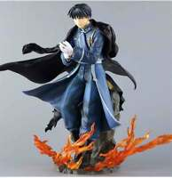 Anime Figurine Alchemist Edward Roy Action Figure PVC Toys Collection Gifts