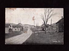 Postcard Lawton Pa  Near Montrose  Susquehanna County