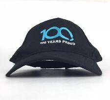 Panasonic - 100 Years Proud - Black Baseball Cap Hat Adj Adult Size Cotton