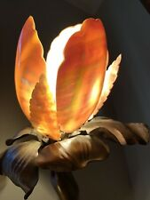 "PAIR Antique Art Deco Nouveau Nautilus Seashell Shell Lamp Shade 5"" Bulb Cover"