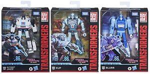 Transformers Studio Series 86 Jazz Kup Blurr G1 Movie Deluxe Class Lot Decals