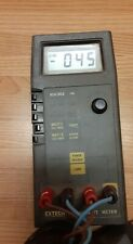 Extech Dw-6060 Digital Watt Meter w/ test leads for voltage