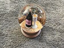 """More details for 5.5"""" its time for prosecco o'clock snowglobe with gold glitter"""