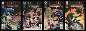 Aliens Apocalypse Destroying Angels Comic Set 1-2-3-4 Lot Chestburster Xenomorph