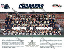 1988 SAN DIEGO CHARGERS NFL FOOTBALL TEAM 8X10 PHOTO PICTURE