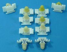 10 x Klammer Clips für Zierleiste Zierleistenklammer BMW 3er E36 NUR M-TECHNIK
