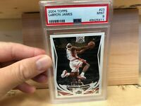 2004-05 Topps 1st Edition #23 LeBron James (2nd Year) PSA 9 Cavaliers