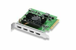 Blackmagic Design Capture Board DeckLink Quad HDMI Recorder BDLKDVQDHDMI4K