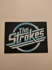 "The Strokes Decal Sticker Adhesive Vinyl~5"" x 3.5"""