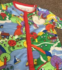 e107a9a7c Little Bird By Jools Oliver Baby Boys/Gorls Coutryside Print Sleepsuit 9-12  mths