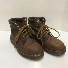 DR MARTENS 939 BOOTS BROWN LEATHER SIZE 4 US SIZE 5 KIDS YOUTH