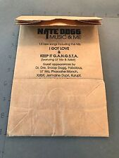 Scarce Promo Brown Paper Bag Nate Dog Music And Me New Rare Vintage Promo 2001