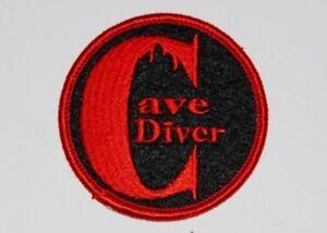 SCUBA DIVING - Cave Diver Patch  SC302