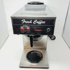 Grindmaster Bl 2p 2 Warmer Commercial Coffee Brewer Tested Working Genuine