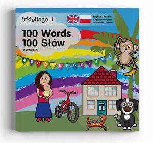 Polish English bilingual children's First Words book