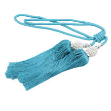 Curtain Tie Backs Beaded Ball Tassel Rope Holdbacks Home Decor Tieback 8C