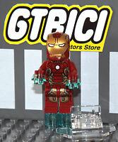 LEGO SUPER HEROES MARVEL MINIFIGURA  IRON MAN MK43 + SUPER JUMPER  Ref 76031