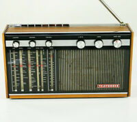 Radio Telefunken Atlanta 101 Weltempfänger Transistor Top Netz & Batterie