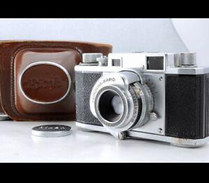 Ricoh 35 Rangefinder Film Camera w/ RIKEN RICOMAT 4.5cm 45mm f2.8!! From JAPAN