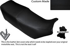 BLACK STITCH CUSTOM FITS SUZUKI GSX 550 EF DUAL LEATHER SEAT COVER ONLY