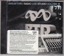 Various Artists - BTR Live Studio #3 - Rare Radio Promotional CD - 1218