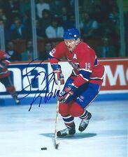 Larry ROBSINSON Signed Montreal CANADIENS 8x10 Photo