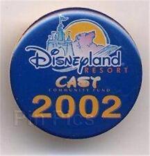 Dlr-Cast Community Fund 2002 (Bear, Castle, Sun) Logo Event Le Disney Pin